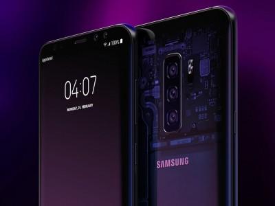 Дизайнер представил, как будет выглядеть Samsung Galaxy S10